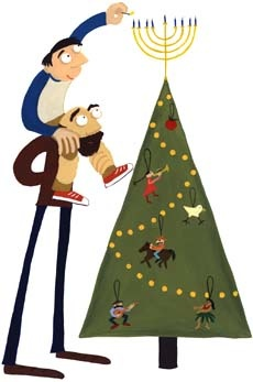 Jews Christmas Trees.Link Roundup Women Rabbis And The Great Christmas Tree
