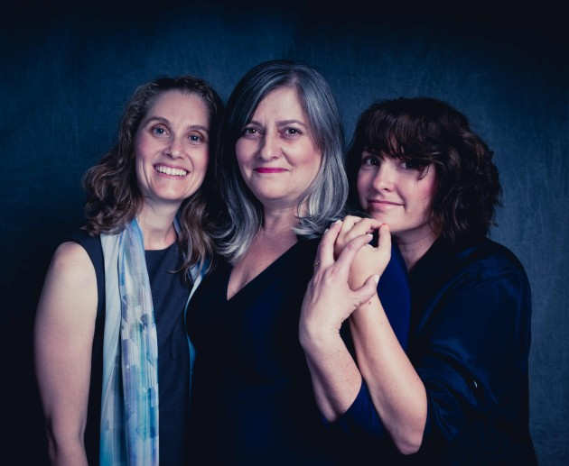 From left: Rabbi Susan Goldberg, Racelle Rosett, Jill Soloway. Photograph by Daniel Sawyer Schaefer, outlierimages.com.