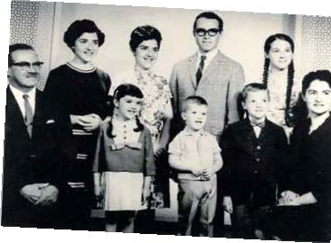 Front row: My father, Bernard Sigal, Frances (me), brothers Robert and Michael, my mother, Liesel. Back row: My sisters Selma and Marilyn, brother Peter, sister Margaret, circa 1966.