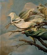 Samuel Bak, Continuous Prayer, 2001, oil on canvas