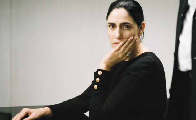 "Ronit Elkabetz plays the role of Viviane Amsalem in ""Gett."""