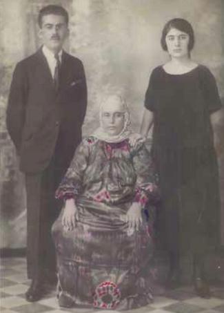 Moshe Nissim, Chinee, and Sivia Babayoff