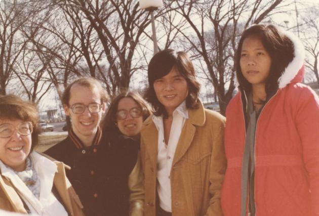 Sam Fox, Bev Fox, Thai Tran, Mai Tran, 1979.