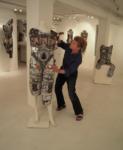 Stein with Sculpture, 2010