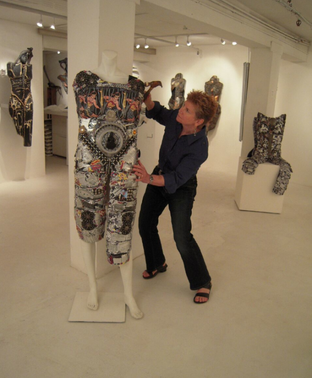 Stein with Sculpture, 2010