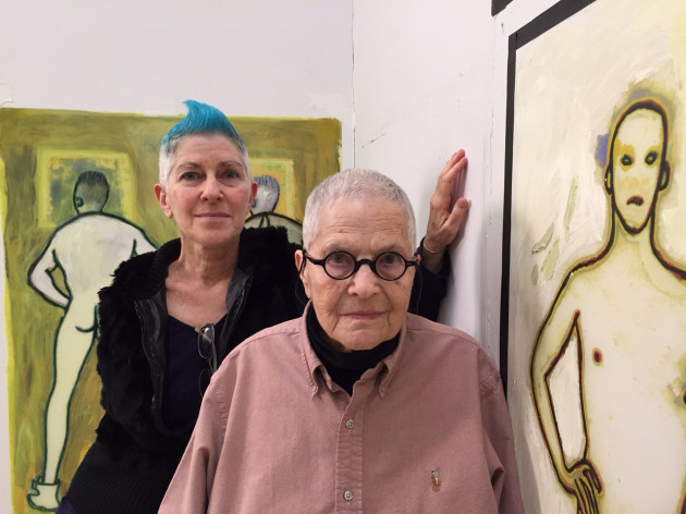Beth B and her mother, Ida Applebroog