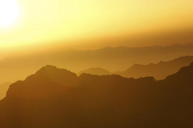 """Sunrise on Mount Sinai,"" Flickr.com, Peaceworker46."