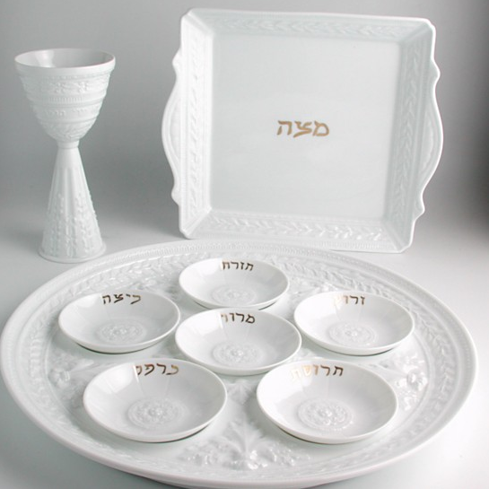 empty seder plate