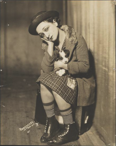 "Molly Picon in the ""The Jolly Orphan,"" 1929."