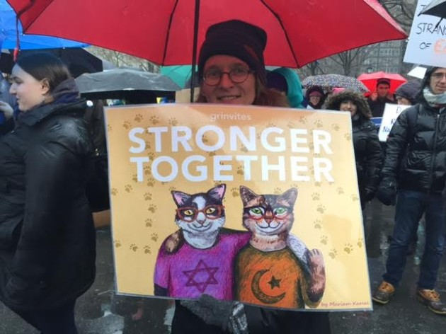 """Stronger Together"" photo by Amy Stone"