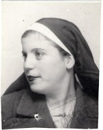 A photograph of Gisèle Braka, who used her position as a nurse to work for the Resistance.