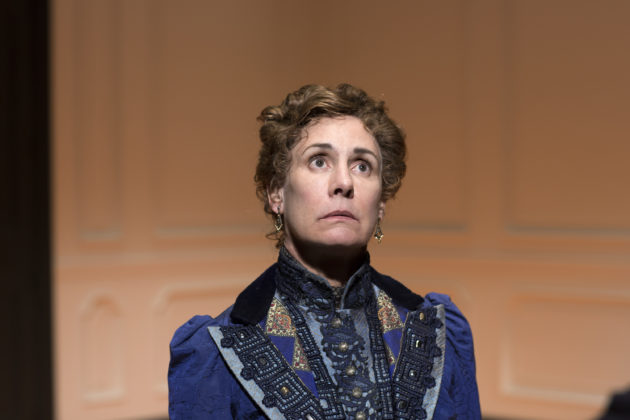 Laurie Metcalf in a scene from A DOLL'S HOUSE, PART 2 . Photo credit: Brigitte Lacombe