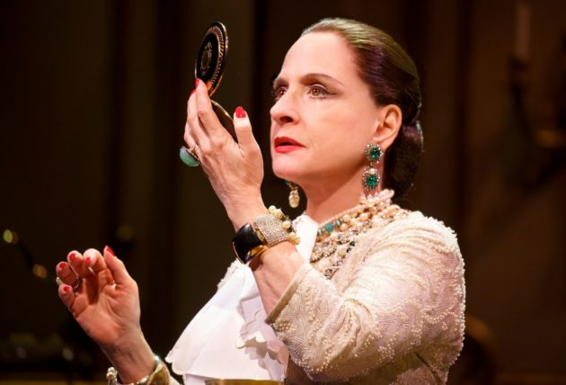 Patti LuPone in WAR PAINT, photo by Joan Marcus