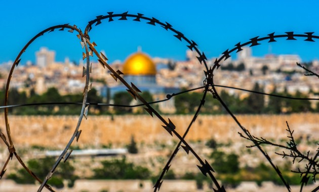 jerusalem barbed wire