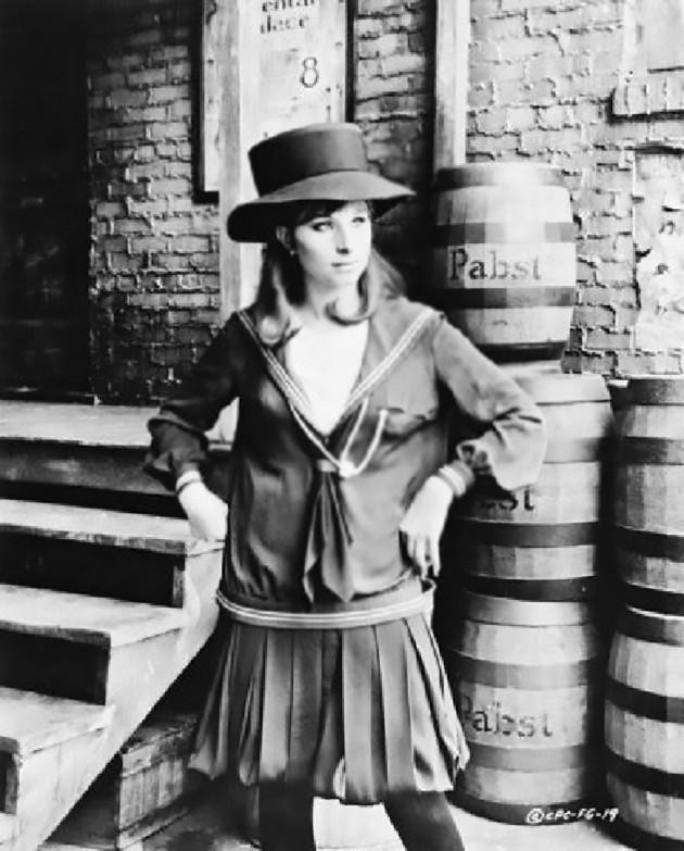 Barbra Streisand in 1968.