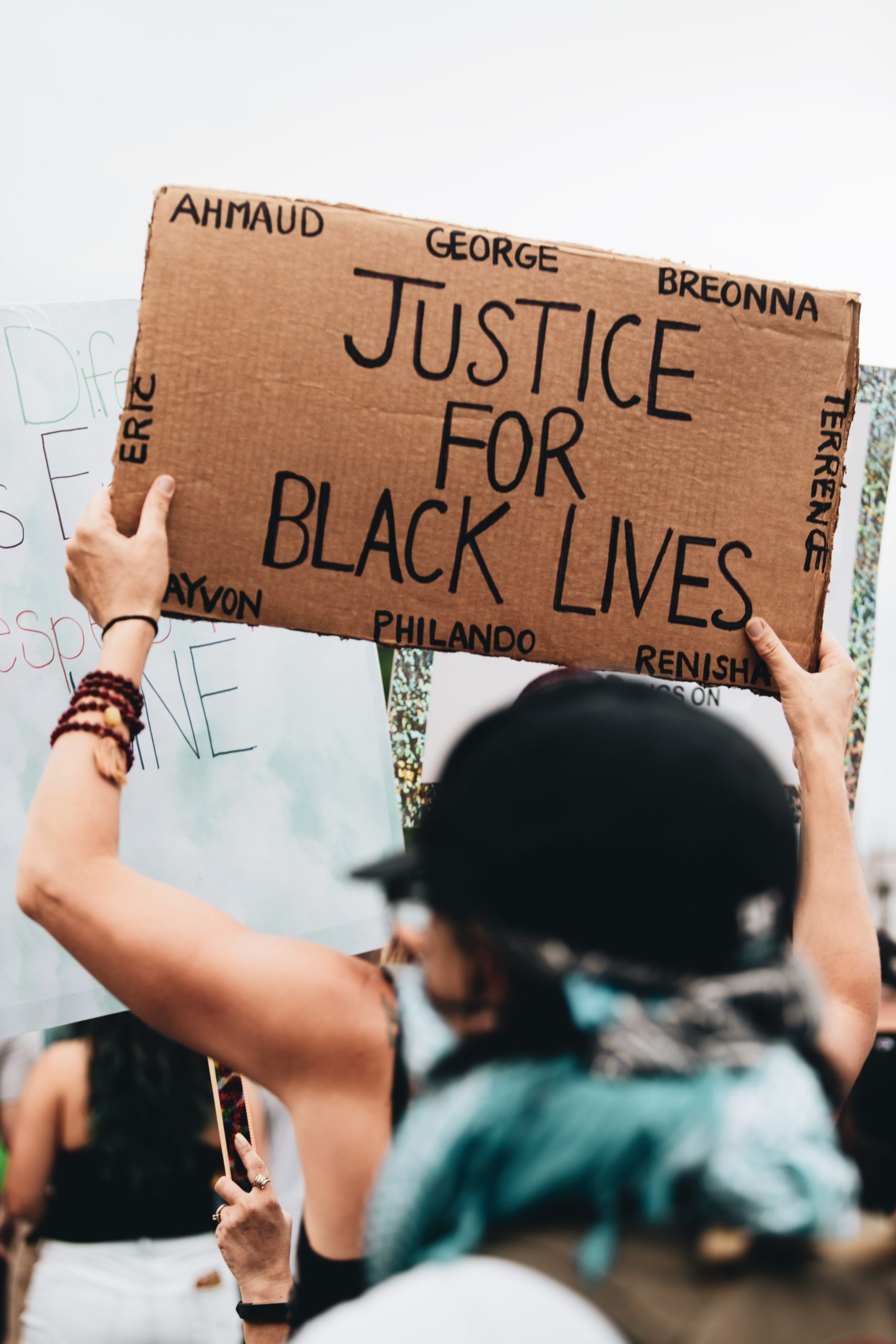 A Black Lives Matter Protest Image