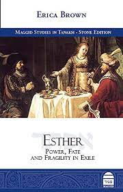 Book Cover: Esther: Power, Fate, and Fragility in Exile by Erica Brown