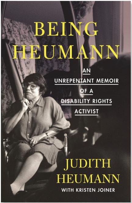 Cover of Being Heumann by Judith Heumann